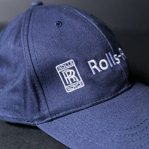 Rolls Royce Accessories - ROLLS ROYCE Embroidered Strapback Dad Hat 122b9f3953d9